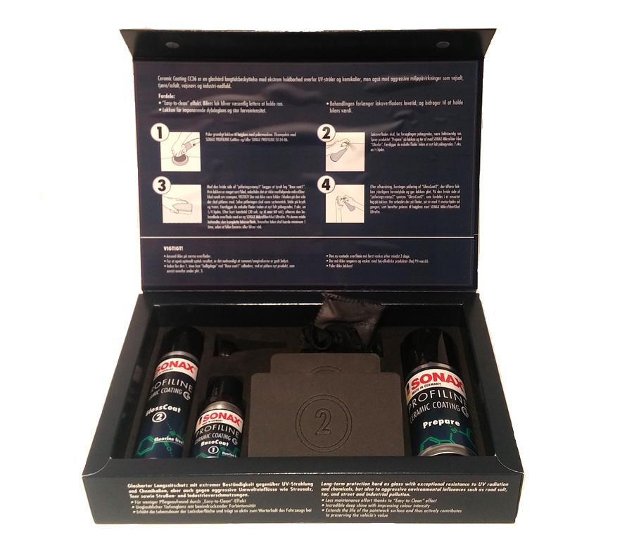 Sonax Ceramic Coating Cc36 Astina Dk