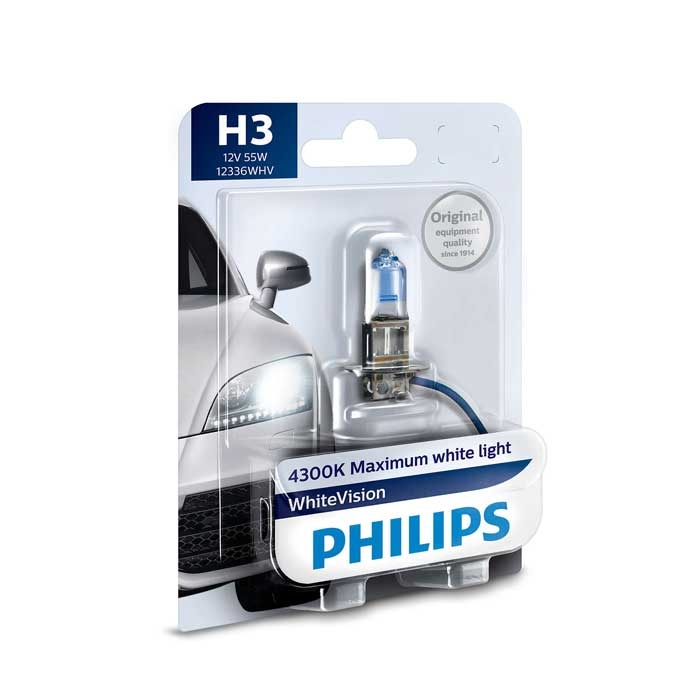philips whitevision xenon effect h3 ultra make your car different. Black Bedroom Furniture Sets. Home Design Ideas