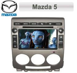 Mazda 5 Autoradio med Navi, DVD, USB 6,5