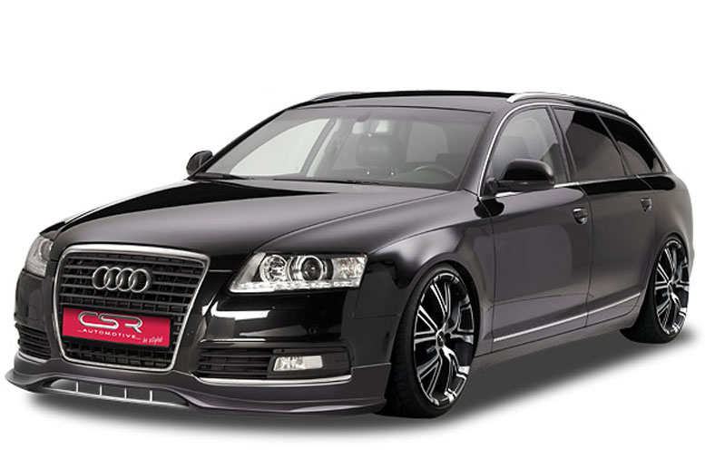 audi a6 4f styling csr frontspoiler facelift 08 11. Black Bedroom Furniture Sets. Home Design Ideas