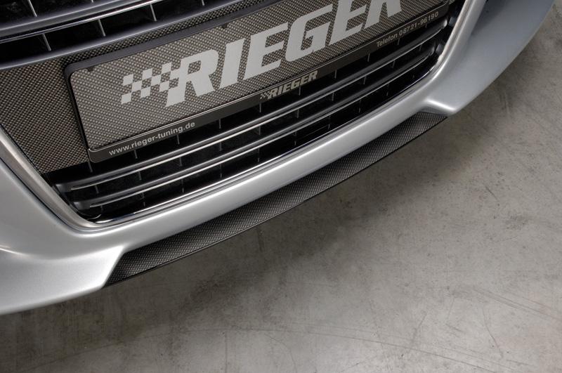 Audi TT 8N Rieger Forkofanger Spoilversværd Sort