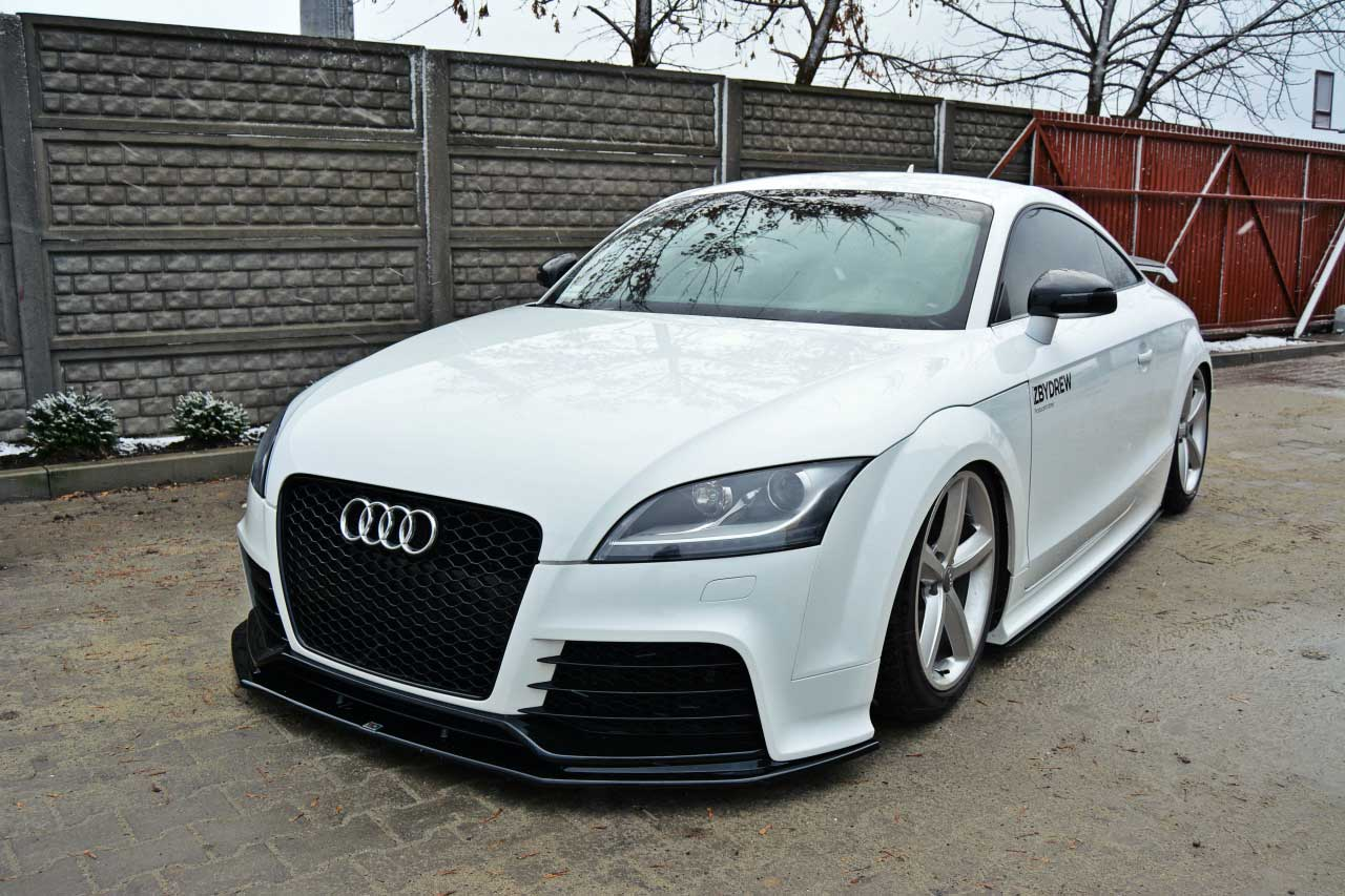 audi tt 8j rs styling frontsplitter 2009 2014 v1. Black Bedroom Furniture Sets. Home Design Ideas