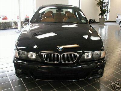BMW E39 chrome nyrer / grill