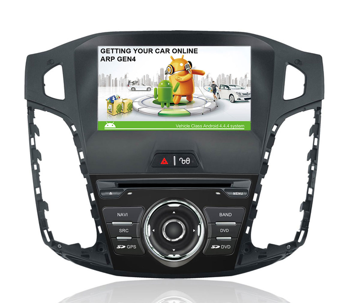 ford focus iii autoradio med navi dvd usb bt 8 gen4. Black Bedroom Furniture Sets. Home Design Ideas