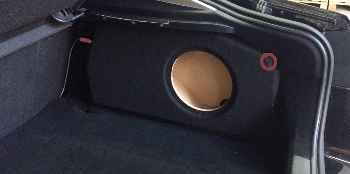 Ford Mondeo Mk4 Subwoofer Baskasse 10 Quot 25cm Hatchback