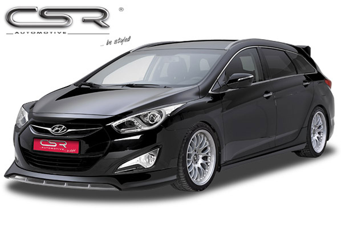 Hyundai I40 Csr Styling Frontspoiler Astina Dk Make Your Car Different