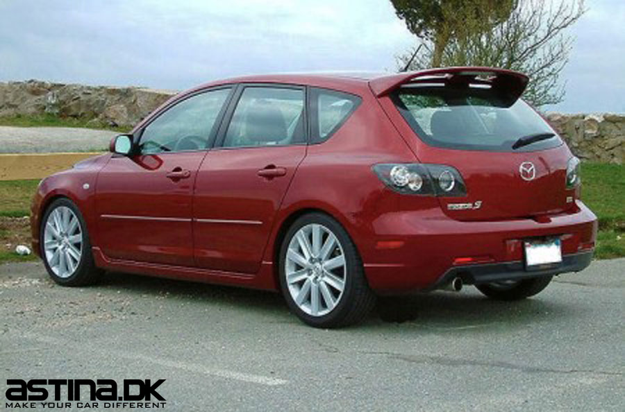 mazda 3 bk h kspoiler hatchback med bremselys. Black Bedroom Furniture Sets. Home Design Ideas
