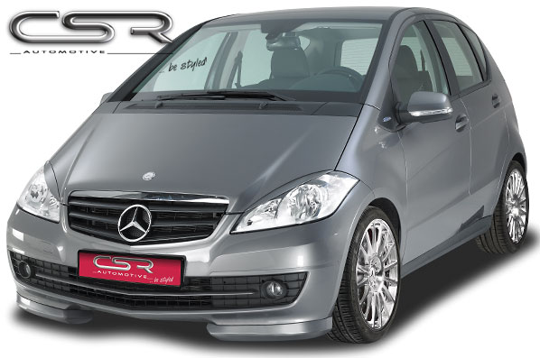 mercedes a klasse w169 csr frontspoiler. Black Bedroom Furniture Sets. Home Design Ideas