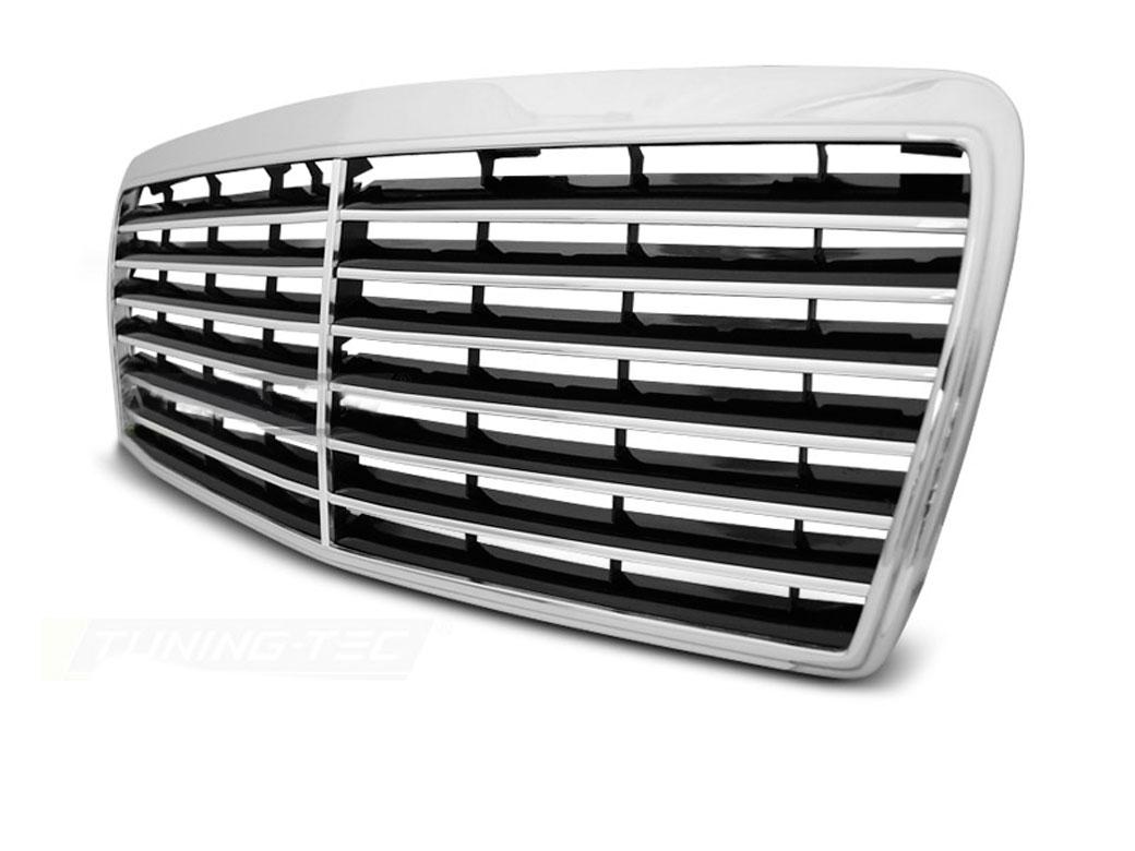 mercedes w124 avantgarde frontgrill 93 95. Black Bedroom Furniture Sets. Home Design Ideas