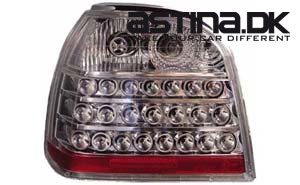 VW Golf 3 Baglygter LED Clean Krom