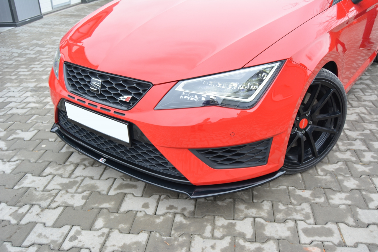 seat leon 5f fr cupra styling frontsplitter v1. Black Bedroom Furniture Sets. Home Design Ideas