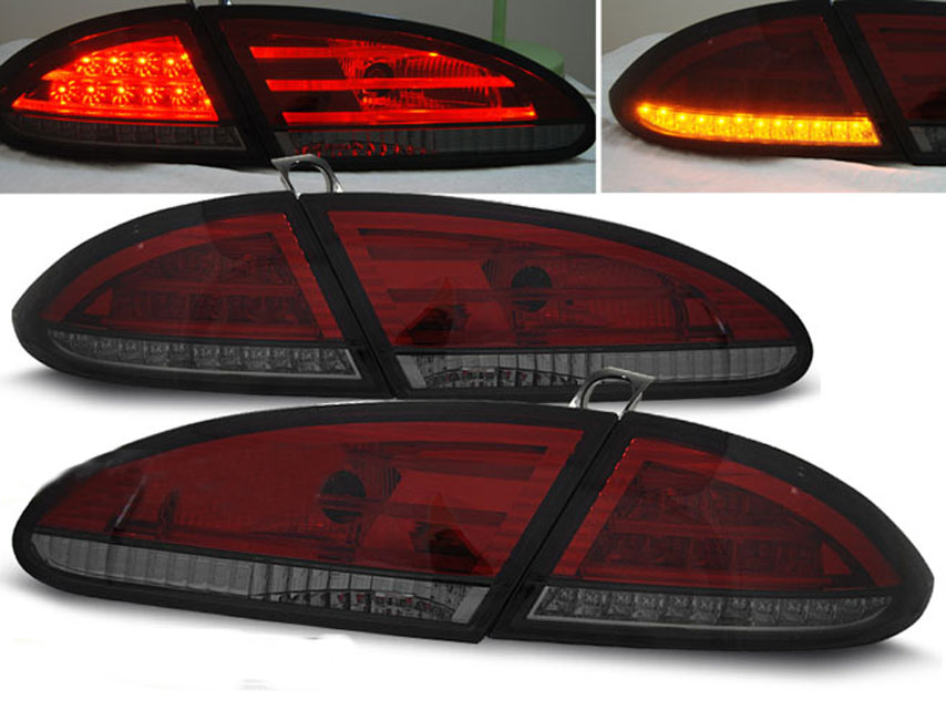 Seat leon 1p baglygter led sonar r d m rk 05 09 astina for Mueble 2 din seat leon 1m