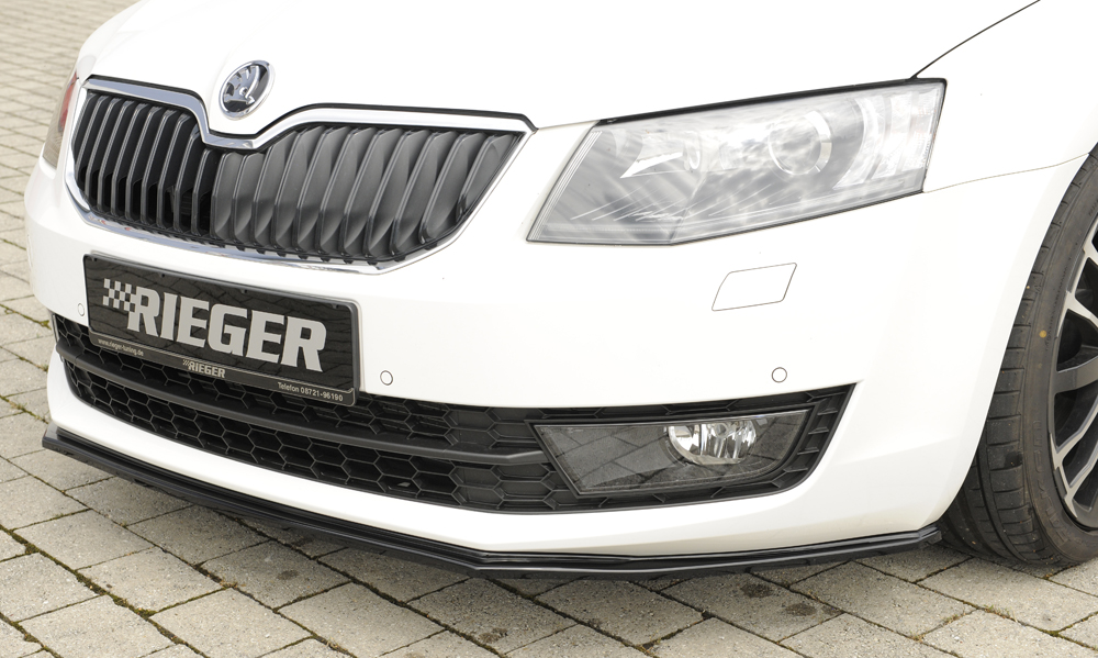 skoda octavia 5e riger styling frontsplitter blank sort. Black Bedroom Furniture Sets. Home Design Ideas