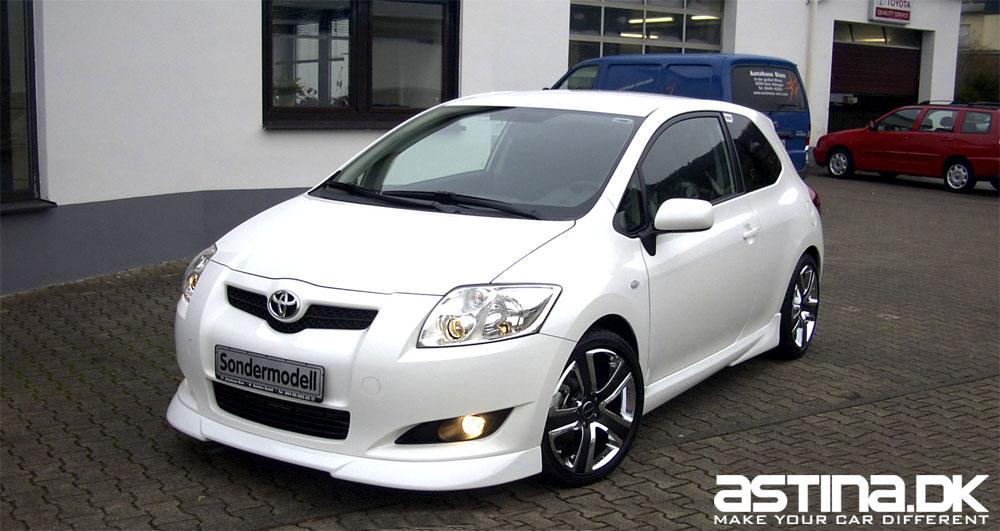 Toyota Auris Bgd Styling Frontspoiler 07 10 Astina Dk