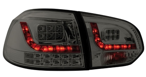 VW Golf 6 Baglygter LED Space Mørk