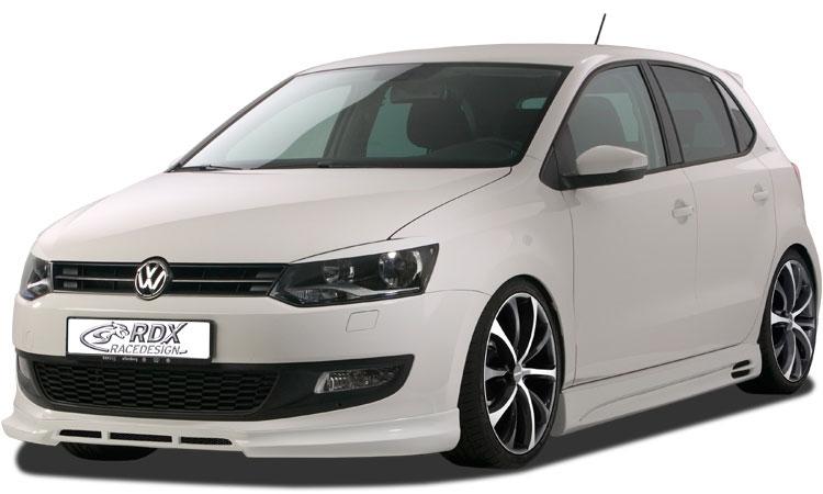 Kendte VW Polo 6R RDX Frontspoiler ABS, Astina.dk HD-79