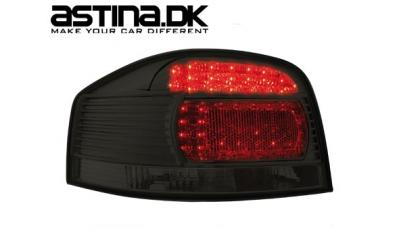 Audi A3 8P Baglygter LED New Design Sort
