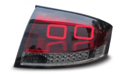 Audi TT 8N Baglygter LED Light Tube Rød / Mørk