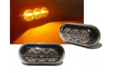 Dacia Duster LED Sideblink Sort