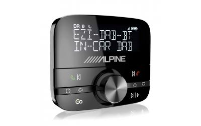 Alpine DAB-Tuner med Bluetooth