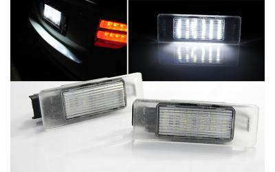 Citroen / Peugeot LED Nummerpladelys Type 2
