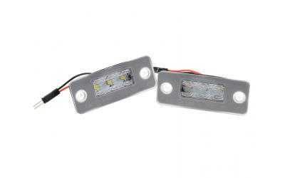 Audi A8 4E LED Nummerpladelys OEM Design