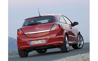 Opel Astra H ABS Styling Bagkofanger GTC Design