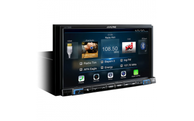 Alpine ILX-702D 2DIN Apple CarPlay Multimedie 7""