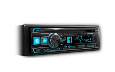 Alpine CDE-185BT Autoradio CDUSB AUX iPod / iPhone