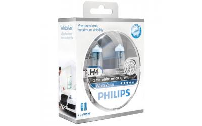 Philips WhiteVision Xenon Effect H4 Ultra