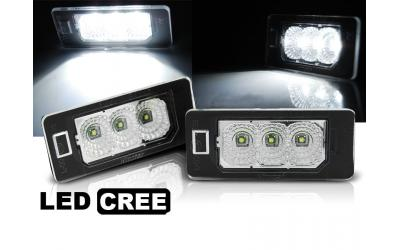 VAG LED Nummerpladelys Audi VW Type 107 CREE