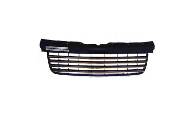 VW T5 Frontgrill Sort / Krom 03-09