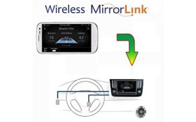 Mirror Link Box WiFi til Android og iPhone
