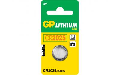 GP CR2025 Lithium Batteri