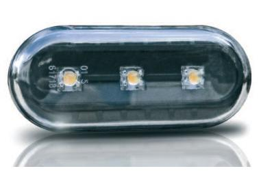 VAG Sideblink LED Oval New Design Sort