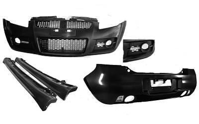 Suzuki Swift MZ ABS Sports Bodykit Komplet inkl. LED Kørelys