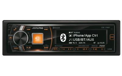 Alpine CDE-178BT AutoradioCD USB AUX iPod / iPhone