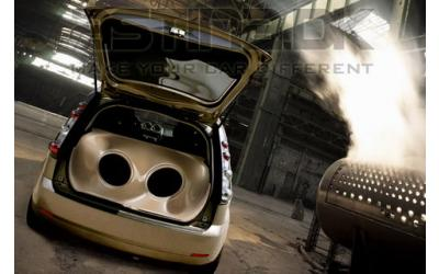 "Ford Fiesta MK6 ASTN Bagagerums System 2x12"" 5D"