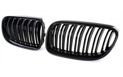 BMW 3-Serie E92 E93 Frontgrill Nyrer Carbon / Blank Sort 10-13