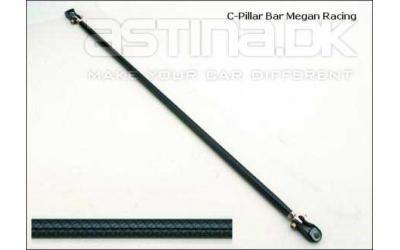 Honda Megan C-Pillar Bar - Carbon LOOK
