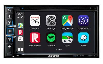 Alpine INE-W611D 2DIN Android Auto / Apple Carplay Navigation