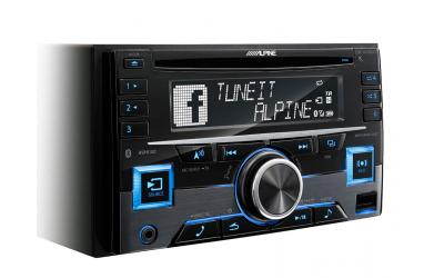 Alpine CDE-W296BT Autoradio CD USB AUX iPod / iPhone