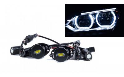 Angel Eyes Boost BMW Type 2 - 2x80 Watt CREE