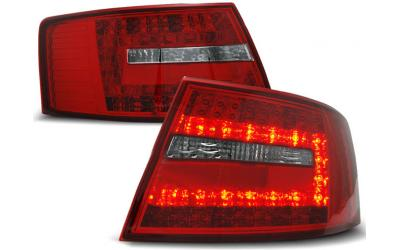 Audi A6 4F Baglygter LED Limo 04-08 Rød - 6-Pins