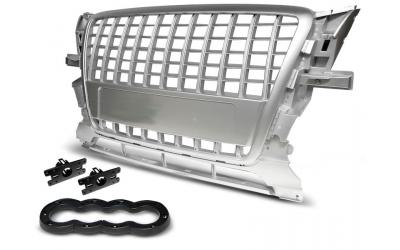 Audi Q5 Frontgrill S-Line Look Sølv 08-12