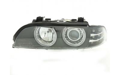 BMW E39 Forlygter Angeleyes DEPO LED Blink Sort