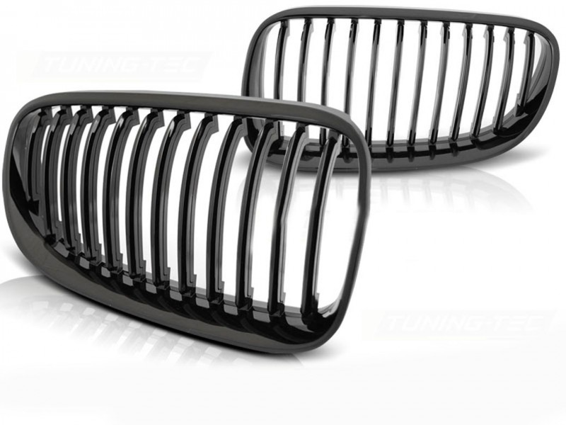 BMW E92 Frontgrill Nyrer Blank Sort 10-13