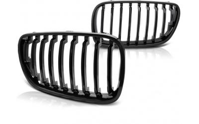 BMW X3 E83 Frontgrill Nyrer Blank Sort 06-10