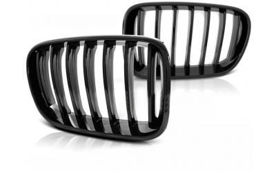 BMW X3 F25 Frontgrill Nyrer Blanksort 10-14
