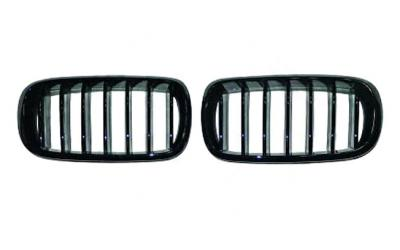 BMW X5 F15 F16 Frontgrill Nyrer M-Performance Look Blanksort 13-